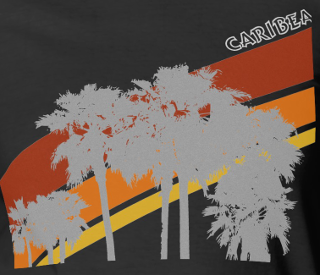 Caribea AZ Palms Graphic Design