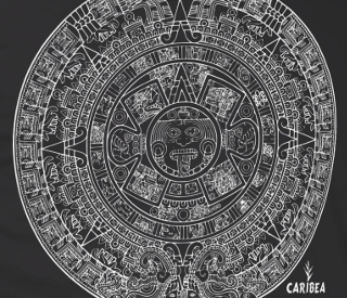 Caribea Mayan Calendar Graphic Design